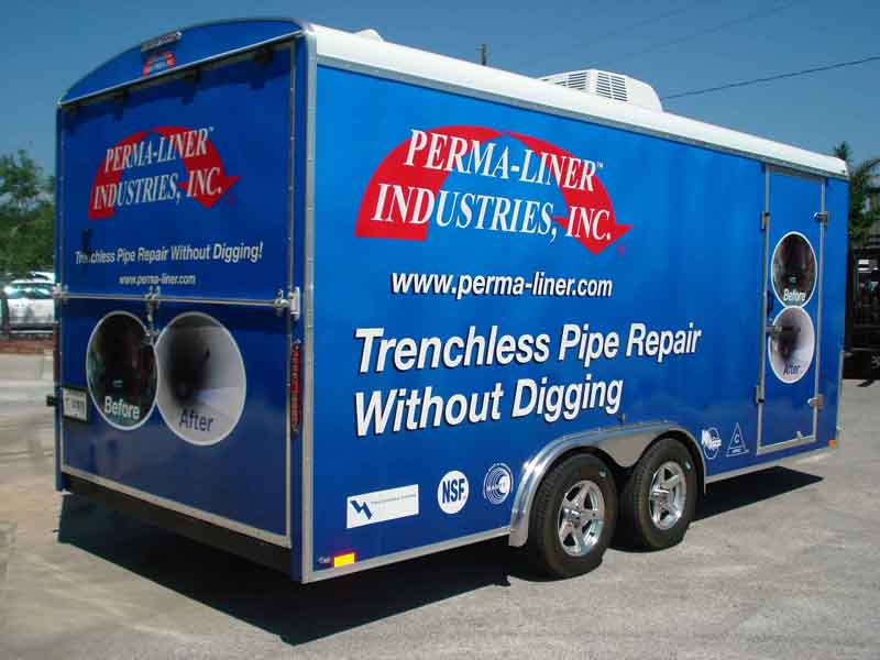 Charlotte contractors have our heard about Perma-Liner™ Turn-key Trailers